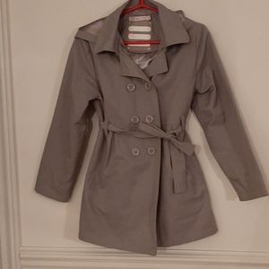 EUC grey trench for girls